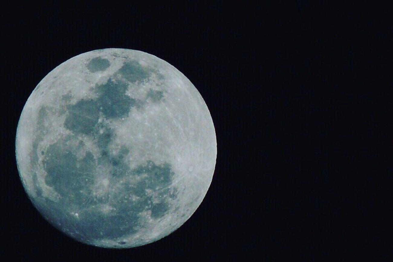 Super lua Night Astronomy