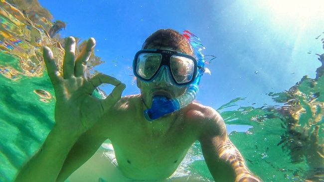 Gopro Underwater Snorkeling Goprooftheday Beach Holiday Vacation Traveling HDR First Eyeem Photo Light That's Me Check This Out Palma De Mallorca Weather Mallorca Sunlight And Shadow