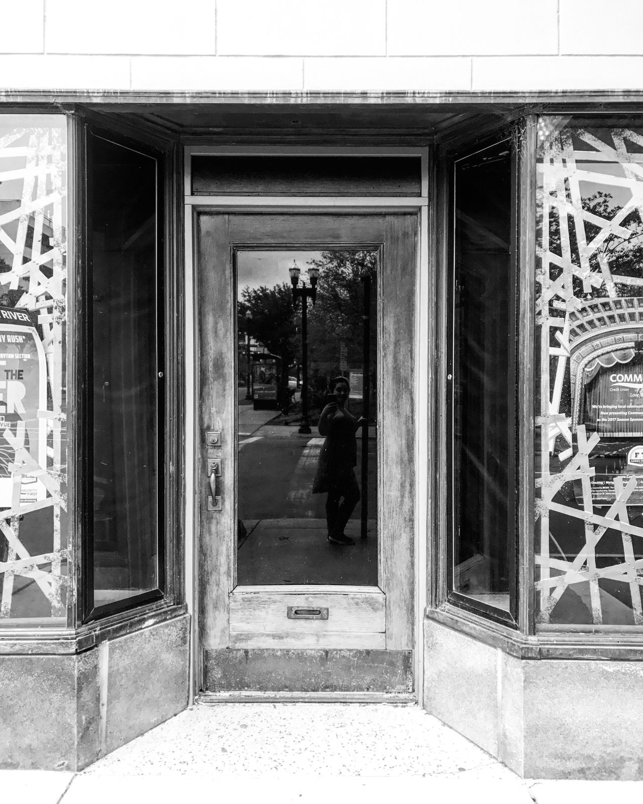 Reflections And Shadows Refelection  Windows Florida Theatre Bnw_society Bnw_captures Bnw_collection Bnw Bnw Photography Downtown Jax Dtjax Exploring Jacksonville Florida Portraits Self Portrait EyeEmNewHere