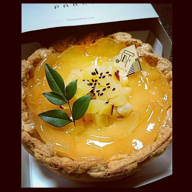cake? Pablo Cheesecake 季節のタルト りんごとさつまいものチーズタルト