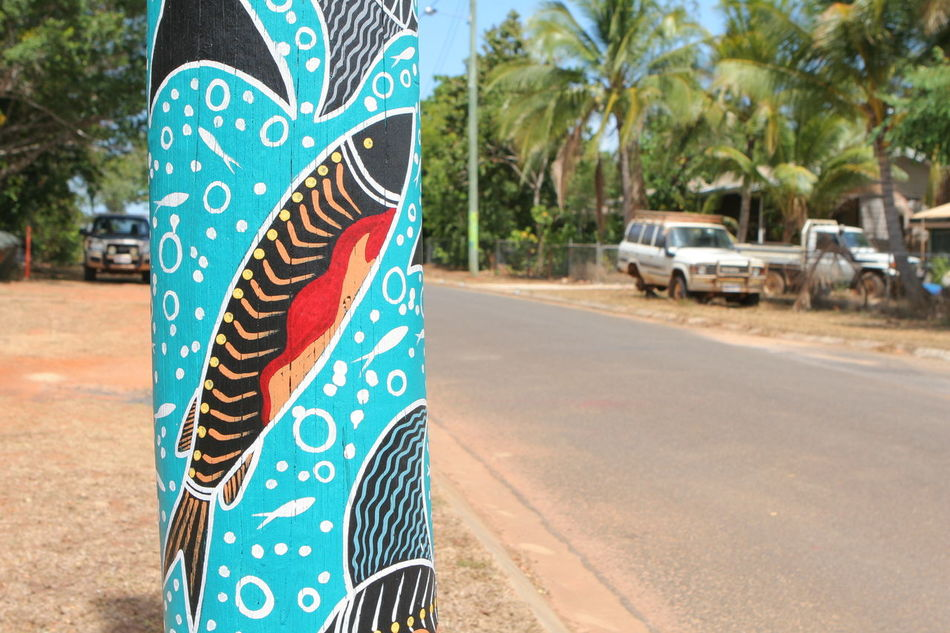 Aboriginal Art Adult Adults Only Close-up Day Focus On Foreground One Person Outdoors People Road Run Down Places Social Documentary Streetphotography Tree