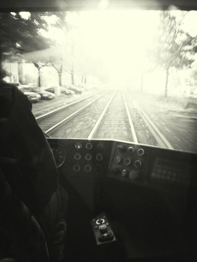 Blackandwhite Commuting