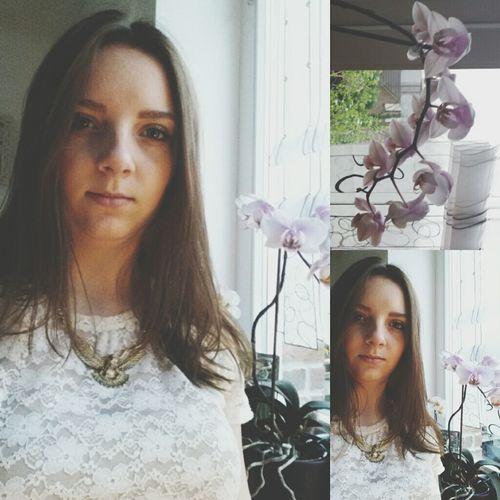 Ich Selfie Fashion Flower