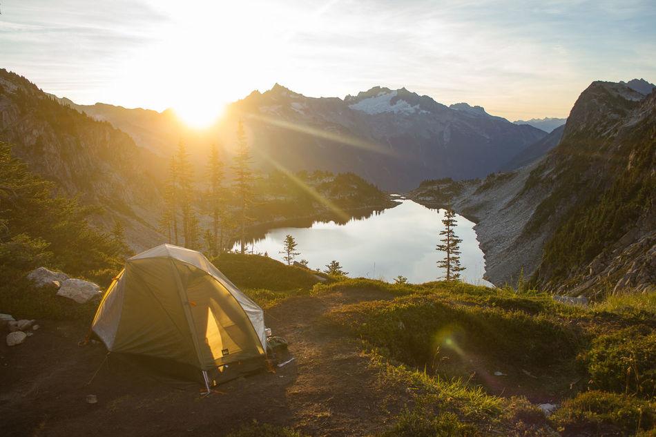 Beautiful stock photos of berge, Beauty In Nature, High Angle View, Idyllic, Lake