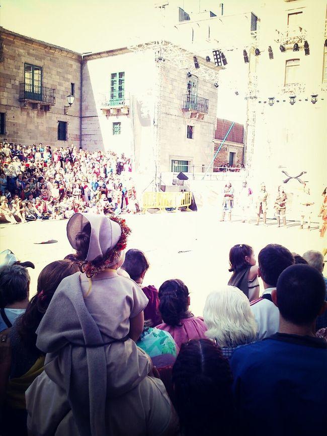 girl watching gladiators Arde Lucus EyeEm Meetup ARDE LUCUS