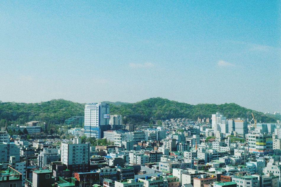 Cityscapes Buildings Bluesky South Korea Incheon Fujifilm_xseries Fujixa2 First Eyeem Photo Meenphtgrph