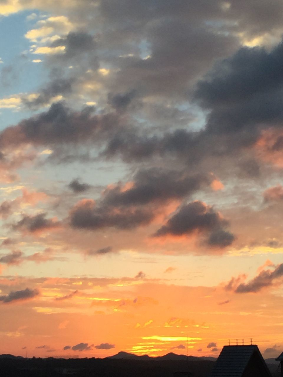 sunset, sky, no people, nature, beauty in nature, architecture, outdoors