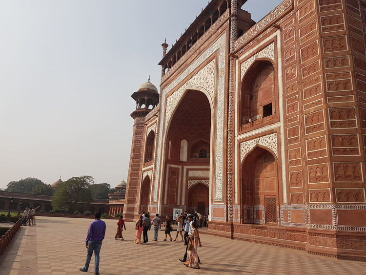 Wounderful Architecture Beauty Of Indian History on Agra fort