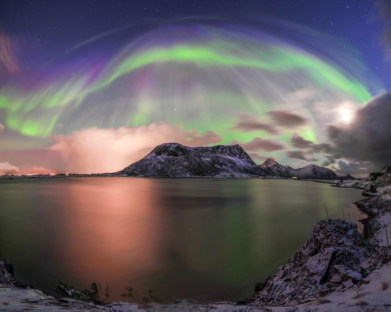Original Experiences Travel Aurora Aurora Borealis Night Lights Dancing Nightphotography Landscape Mountains Norway Lofoten Adventure Once In A Lifetime The Journey Is The Destination