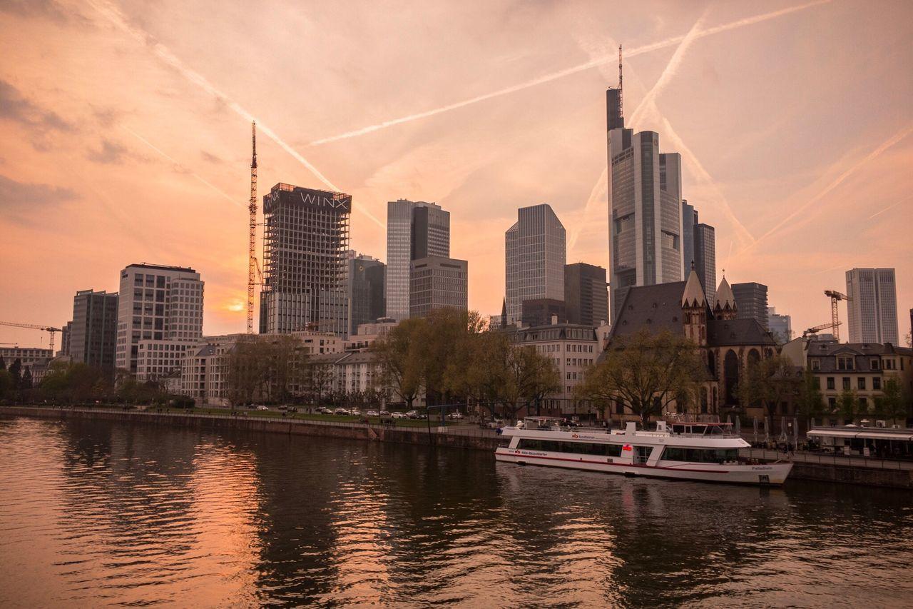 Sunset Eiserner Steg Travel