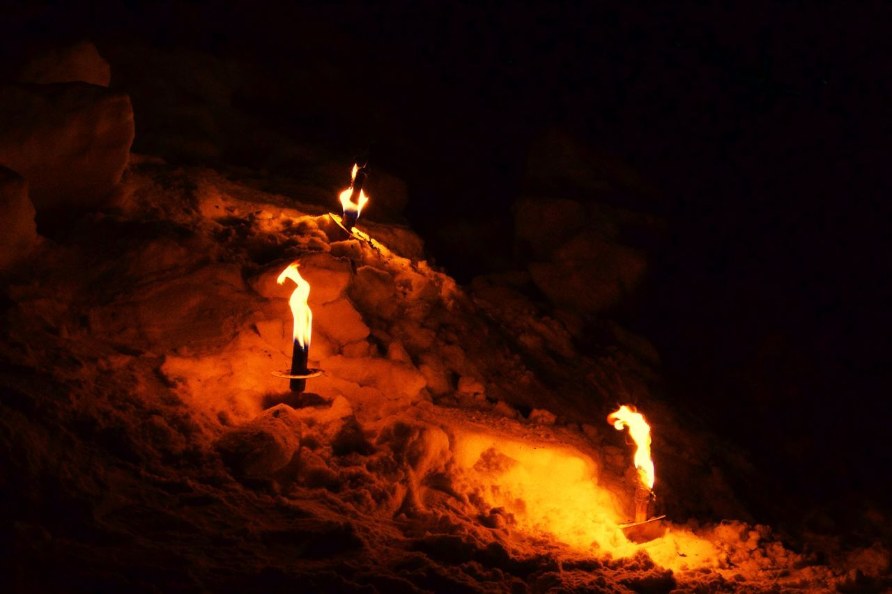 Masserberg Torch Fire The Places I've Been Today Capture The Moment Canon EOS 700D EF-S 18-55mm IS STM