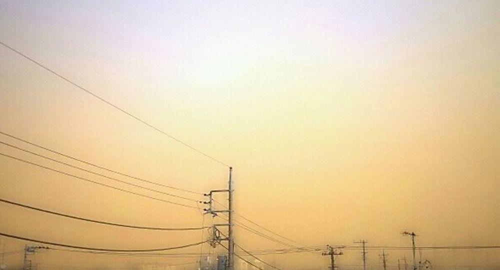 黄砂?朝早く下痢に耐えながら洗車したのに酷い(;_;)… Yellow Sand なんて日だ!