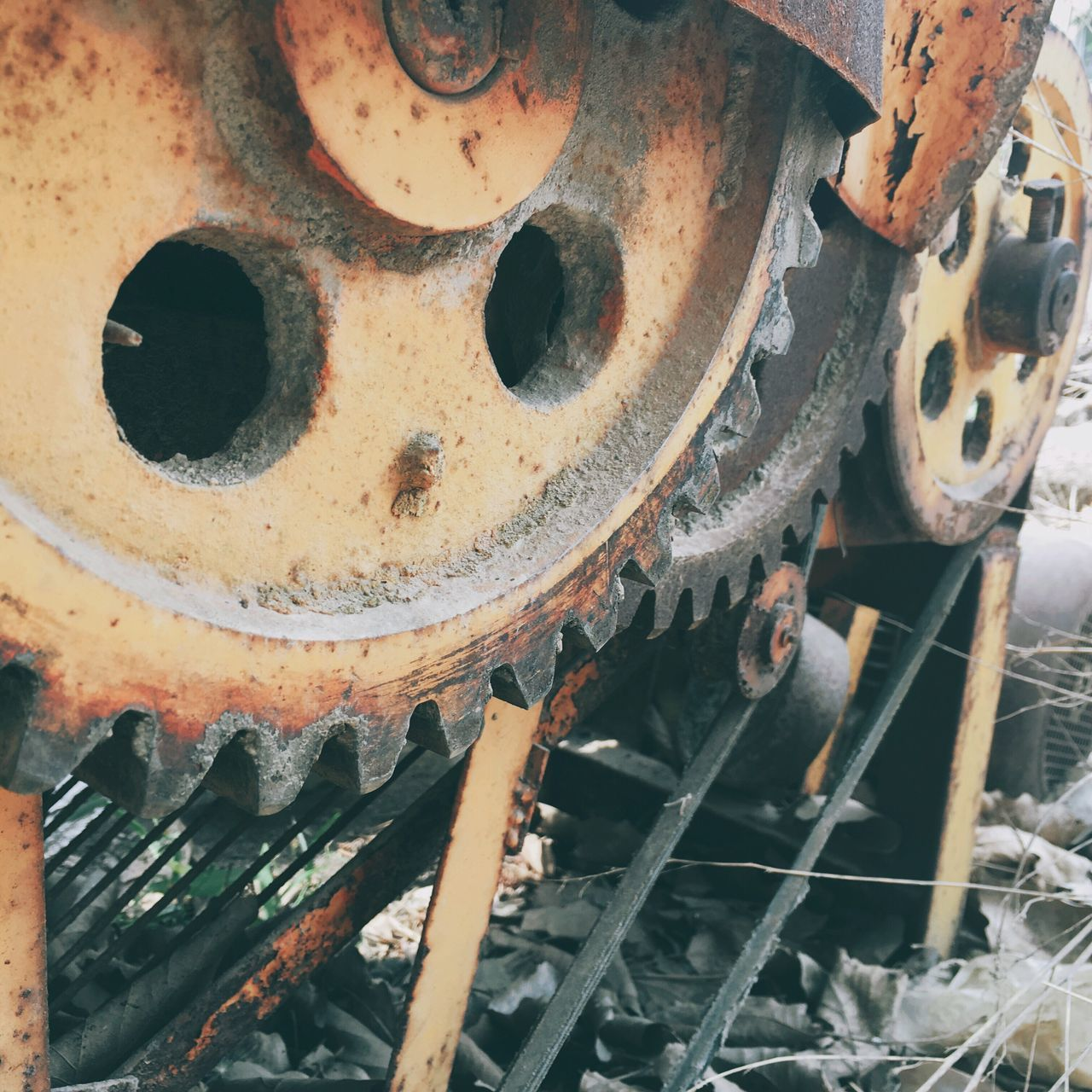 Metal Machine Part Gear Rusty Machinery Industry No People Factory Close-up Technology Indoors  Manufacturing Equipment Industrial Equipment Vehicle Part Workshop Day Metal Industry