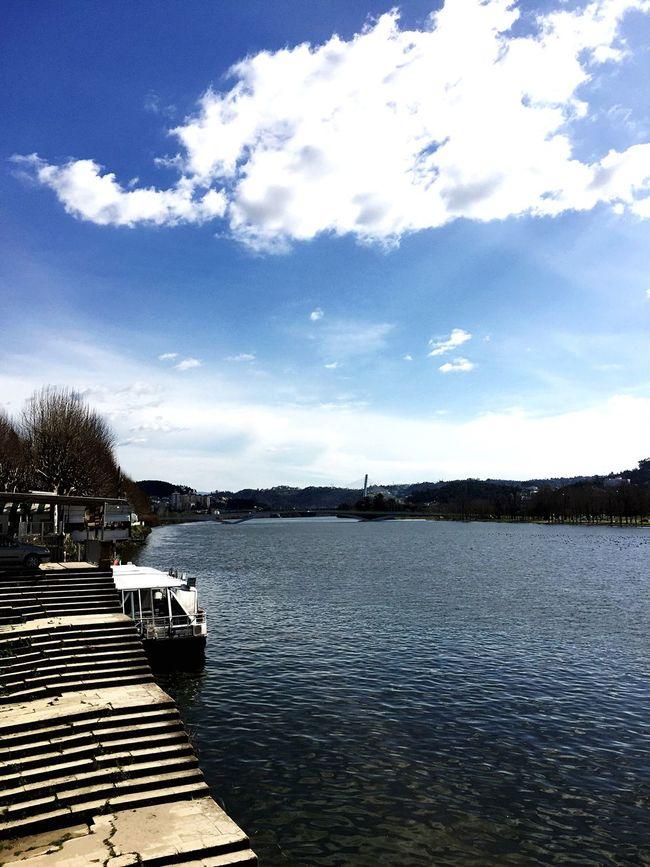 Sunny Day River Mondego