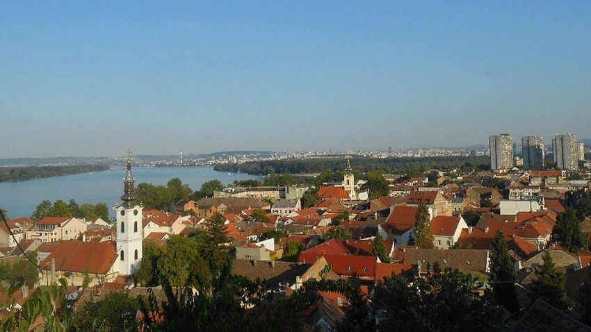 Belgrade,Serbia ZEMUN, Belgrade, Serbija, Danube River City Belgrade Serbia