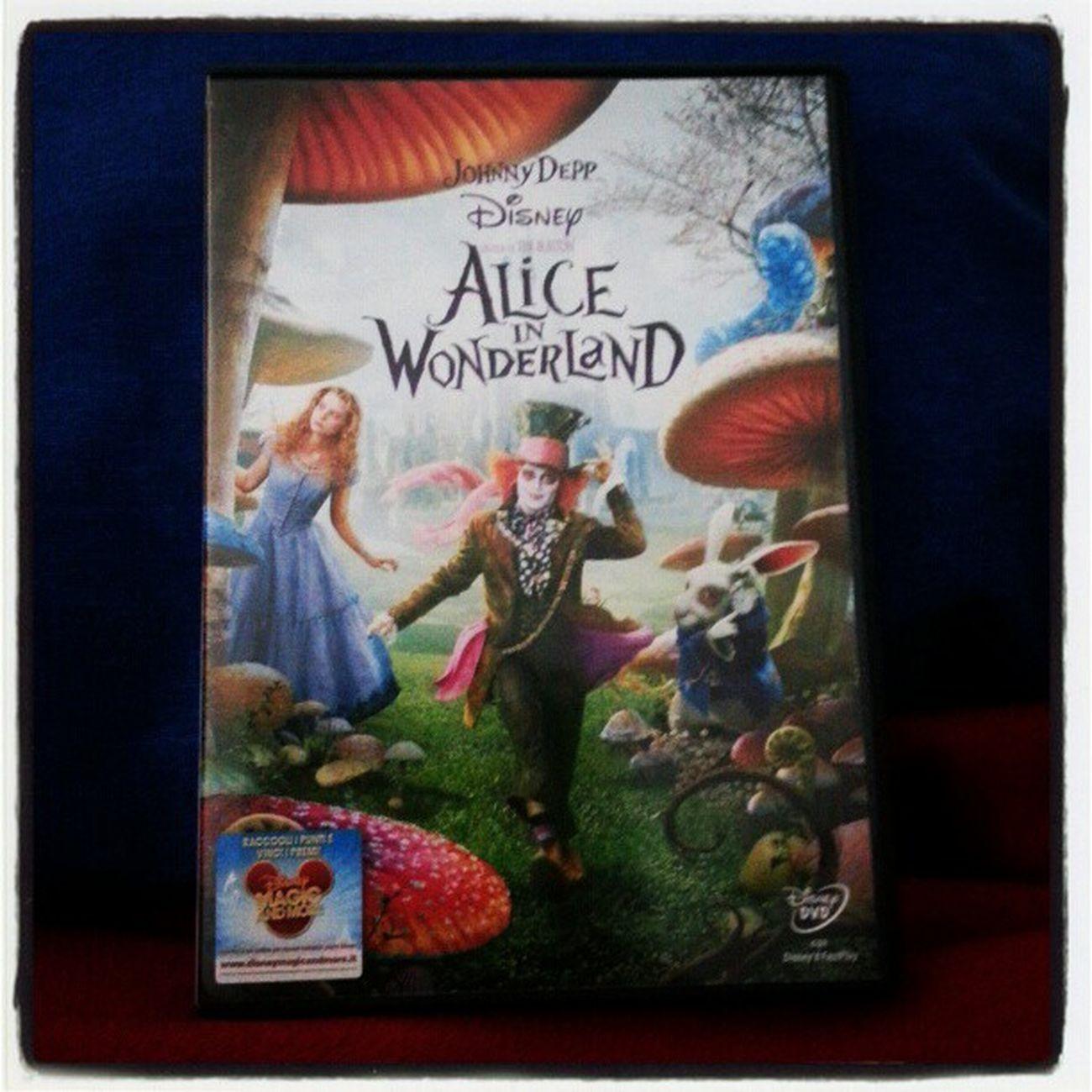 My afternoon!.. :)) Aliceinwonderland Alice Greatmovies Johnnydepp amazing