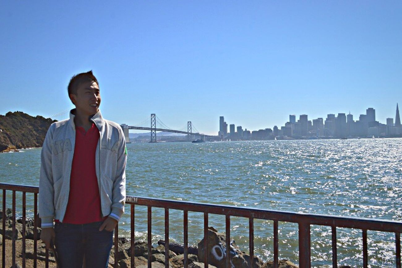 Portrait Of America Sanfrancisco SanFranciscoBay Sanfranciscocalifornia SanFranciscoBayArea San Francisco San Francisco New Bridge Open Edit Hello World Check This Out