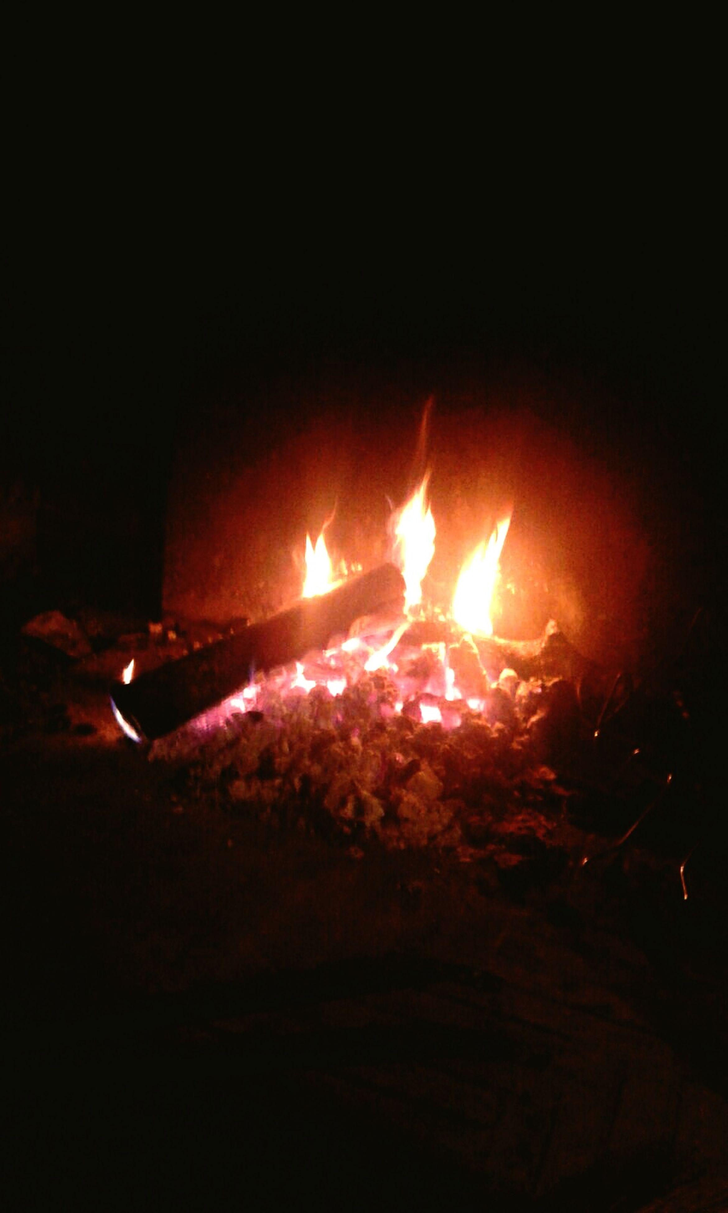 heat - temperature, burning, flame, night, dark, no people, outdoors, close-up