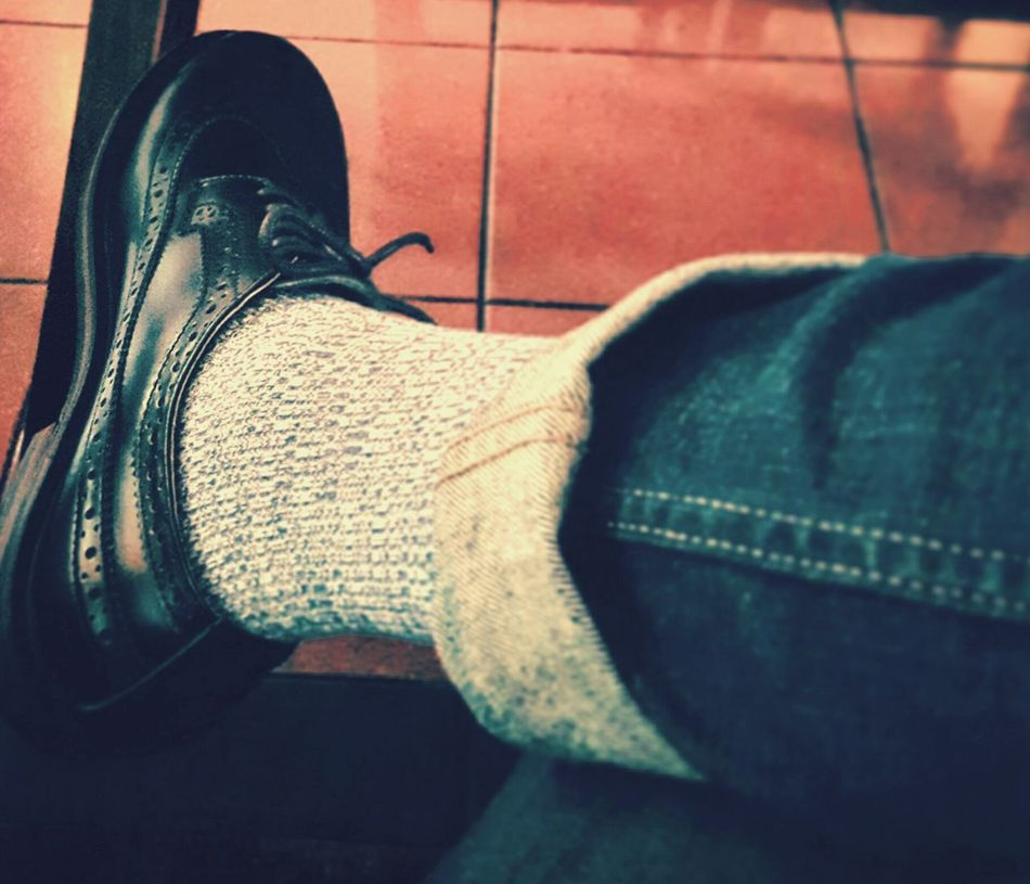 Brogue Shoeselfie Samsungphotography Waiting
