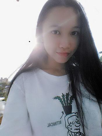 It Is Me My Hair Sunny Sunshine ☀ Sky 😚