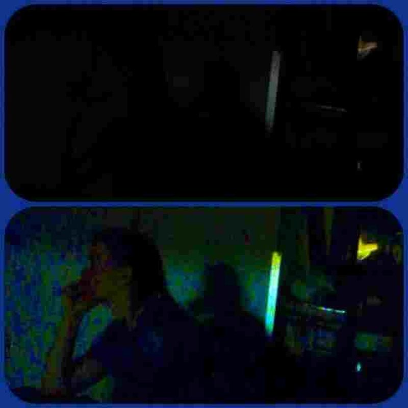 Low light photography; top - before edit bottom - after edit Taking Photos Candid Sneak Shot At The Movie Light And Shadow