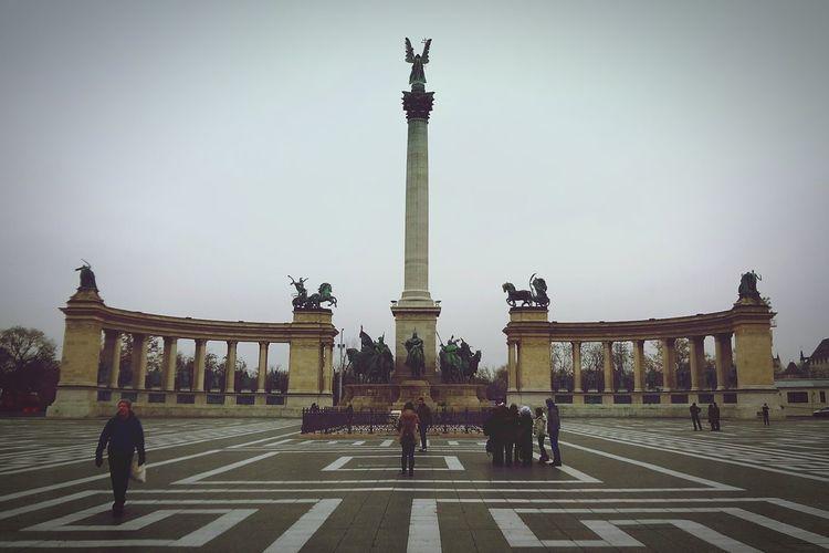 Budapest, Hungary. Statue Monument Travel Destinations Memorial City Outdoors History Budapest - Hungary EyeEmNewHere