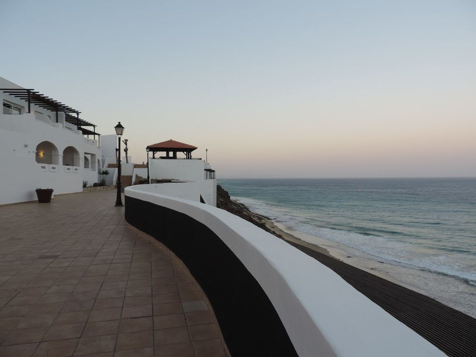 Sea Sky Travel Destinations Beach Tranquility Scenics Water Outdoors Sun No People Architecture Nature Day Vacation NewToEyeEm Fuerteventura Tui Magic Life Wave Waves, Ocean, Nature SPAIN Atlantic Ocean Landscape Great Place All Inclusive