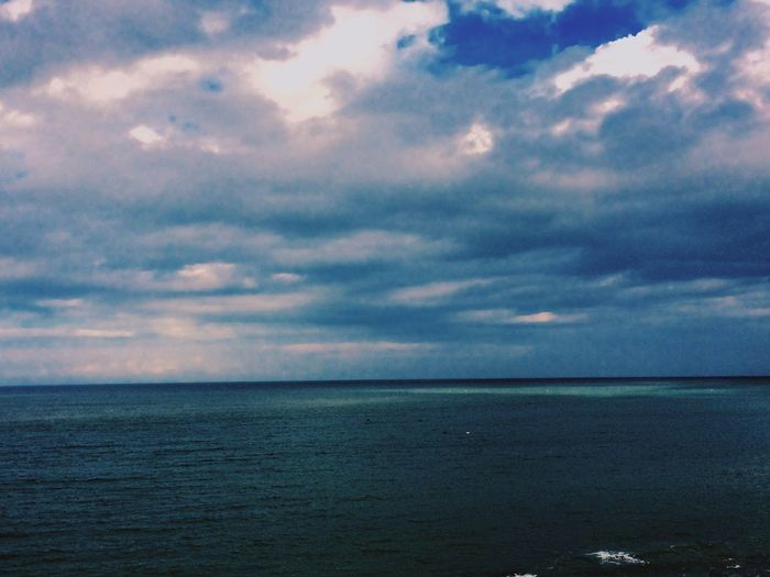 Homesick :( Sea And Sky Sadness Blue Sea Hopes And Dreams