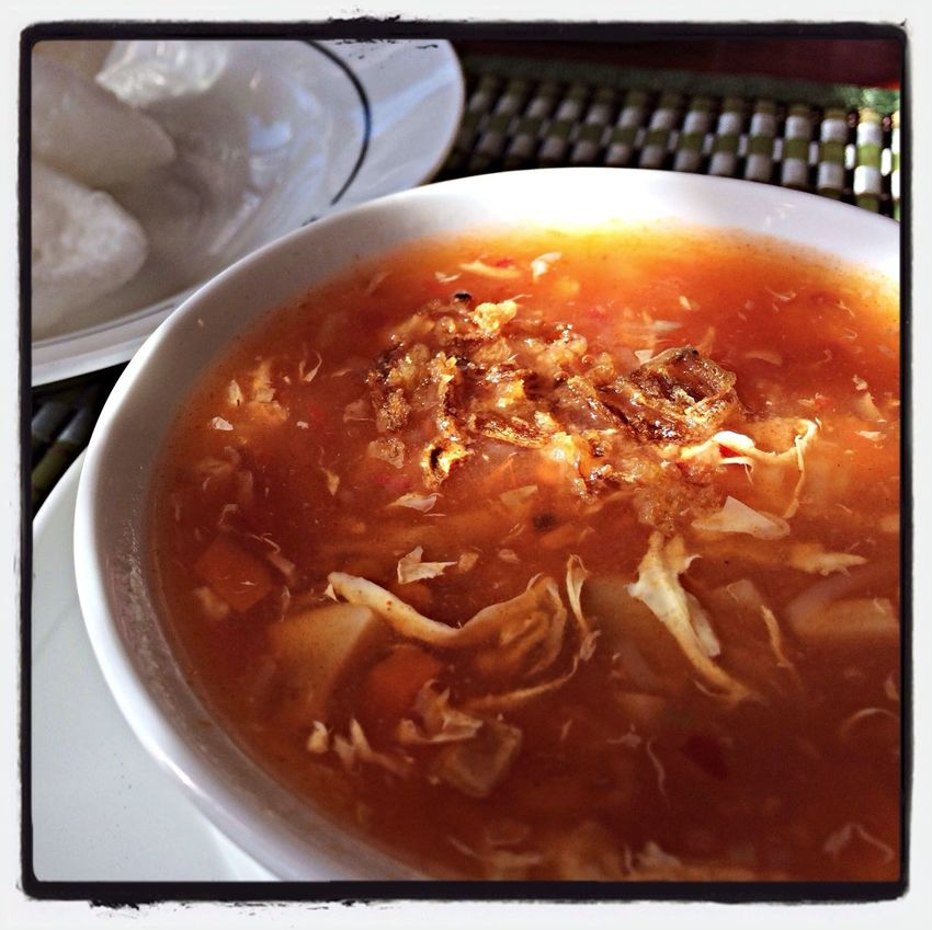 I love a good Hot And Sour Soup ( Pekingsuppe) ... tasty :-) Food / Chinese Food