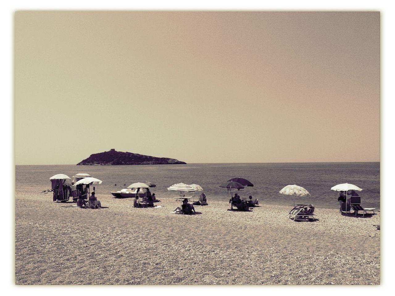 Summer Taking Photos Seaside Beach