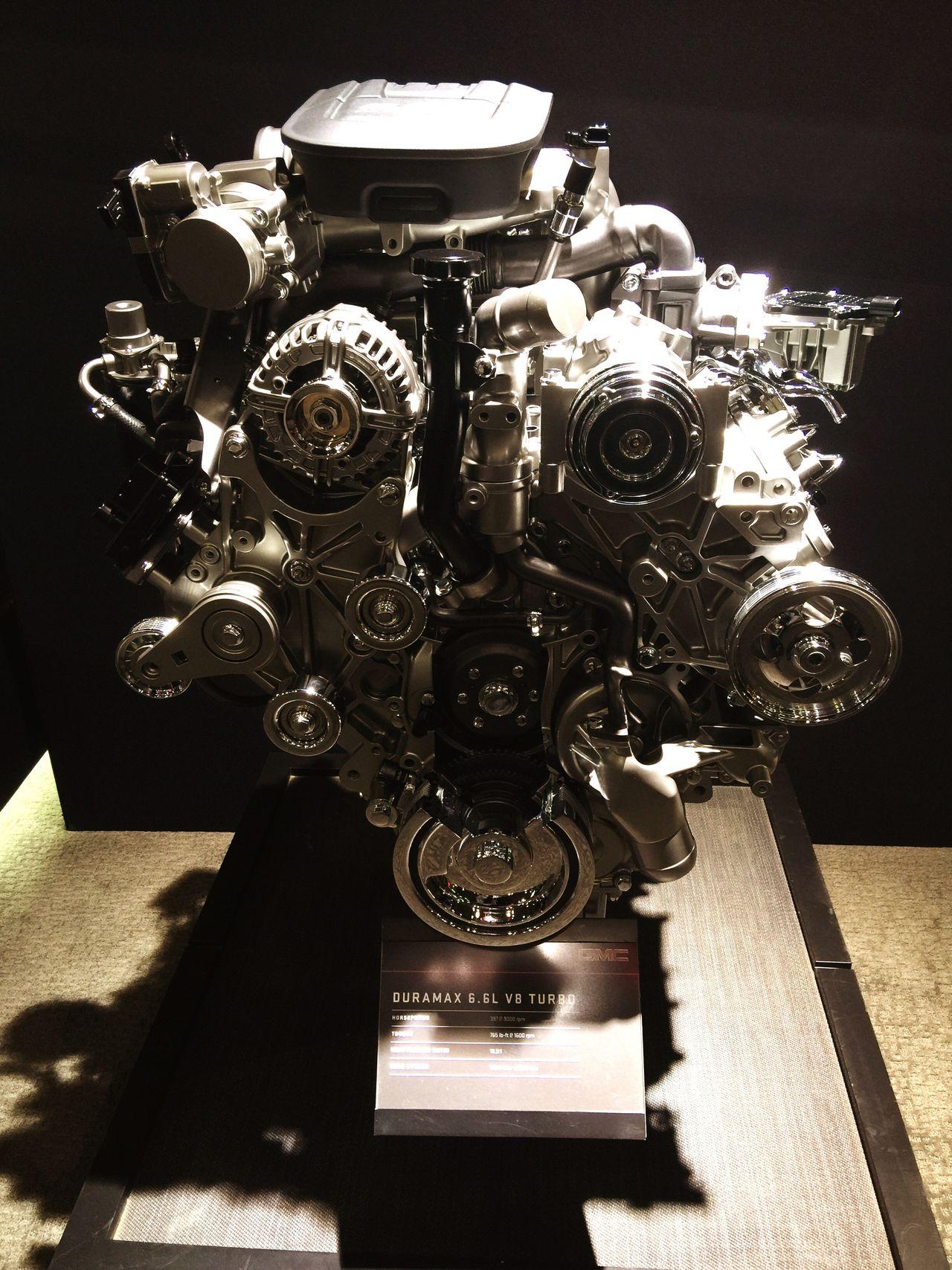 V8 Turbo Engine!