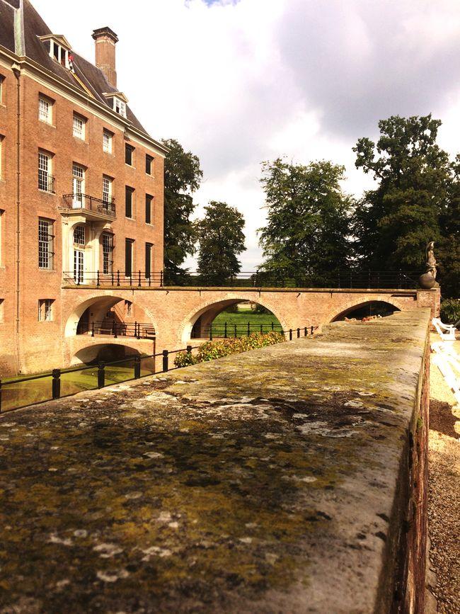 Castle Kasteel Amerongen Sightseeing Taking Photos Historical Sights