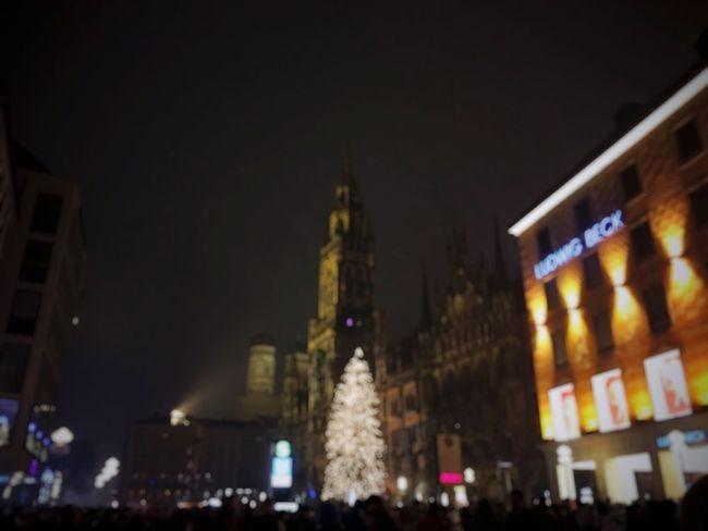 München New Year Poor Eyesight
