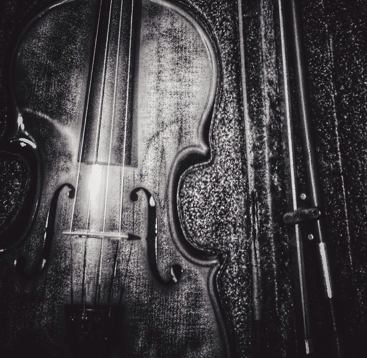 Violin as a forest Blackdrawing Black And White IPhoneography Iphoneonly Black & White EyeEm Iphonesia Iphonephotography Bw