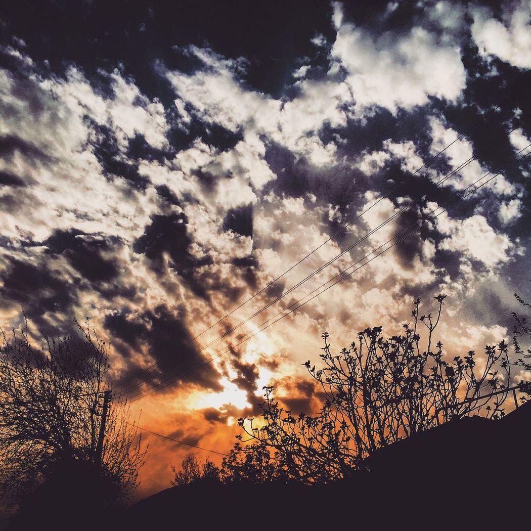 Sunset Sundown Amazing Very Nice