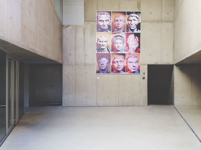 Caras Exhibition Observar Mirar Ver