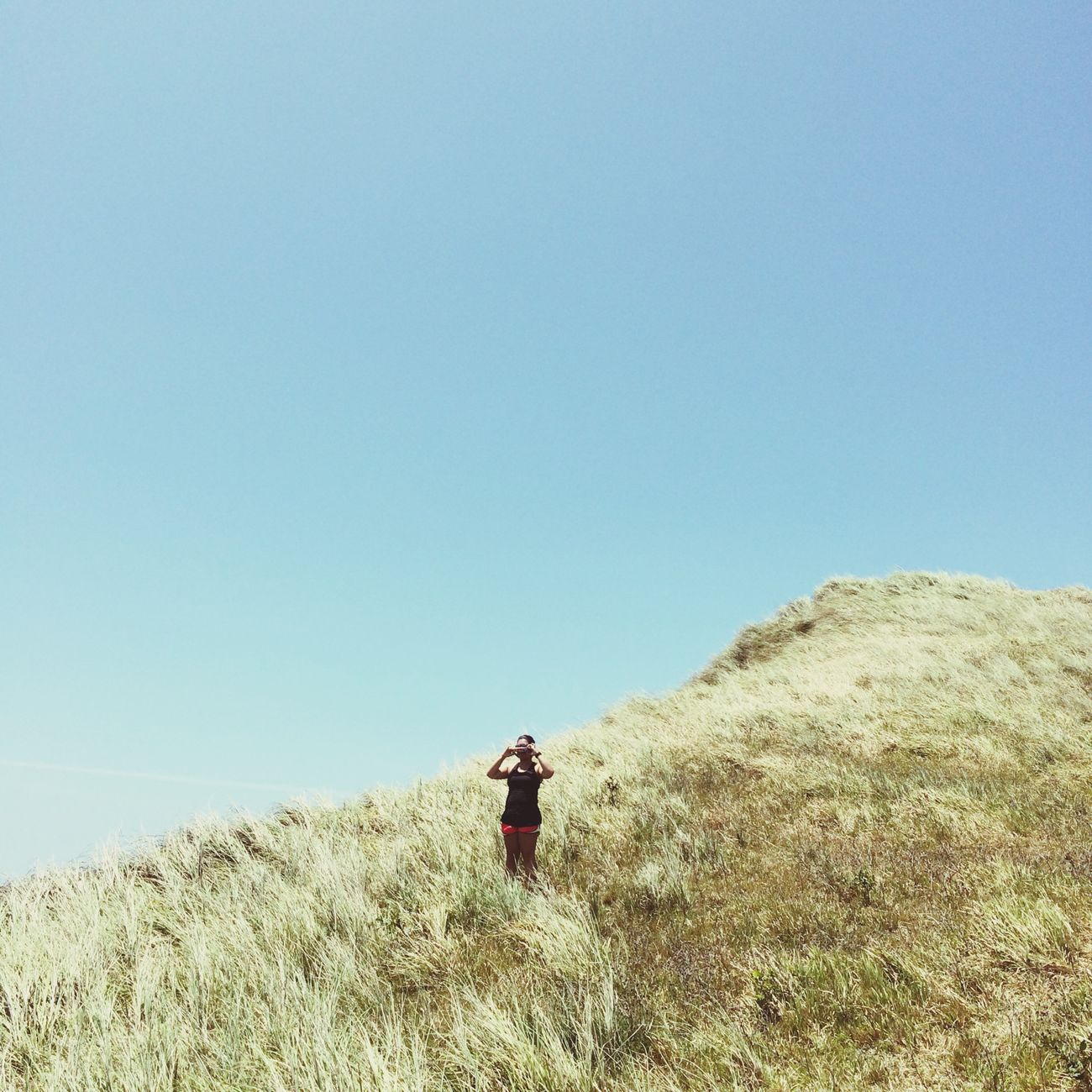 Take a run with me where the sky is blue forever. Escape Mountain View Travel TravelPhilippines Roamriaroam