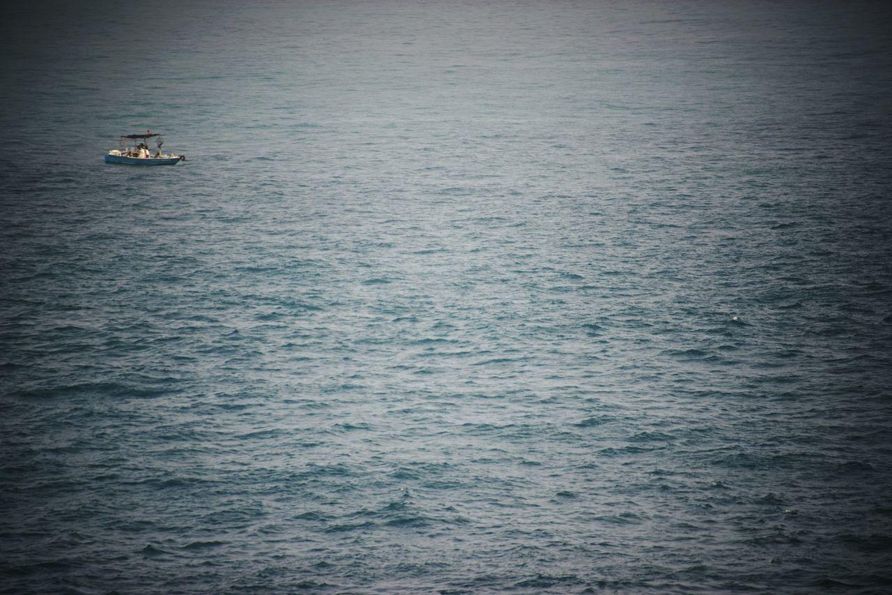 Miles Away Rippled Water Sailing Sea Nautical Vessel Outdoors Ocean View Ocean Waves Fishing Boat Fishinglife OceanCity Getting Inspired