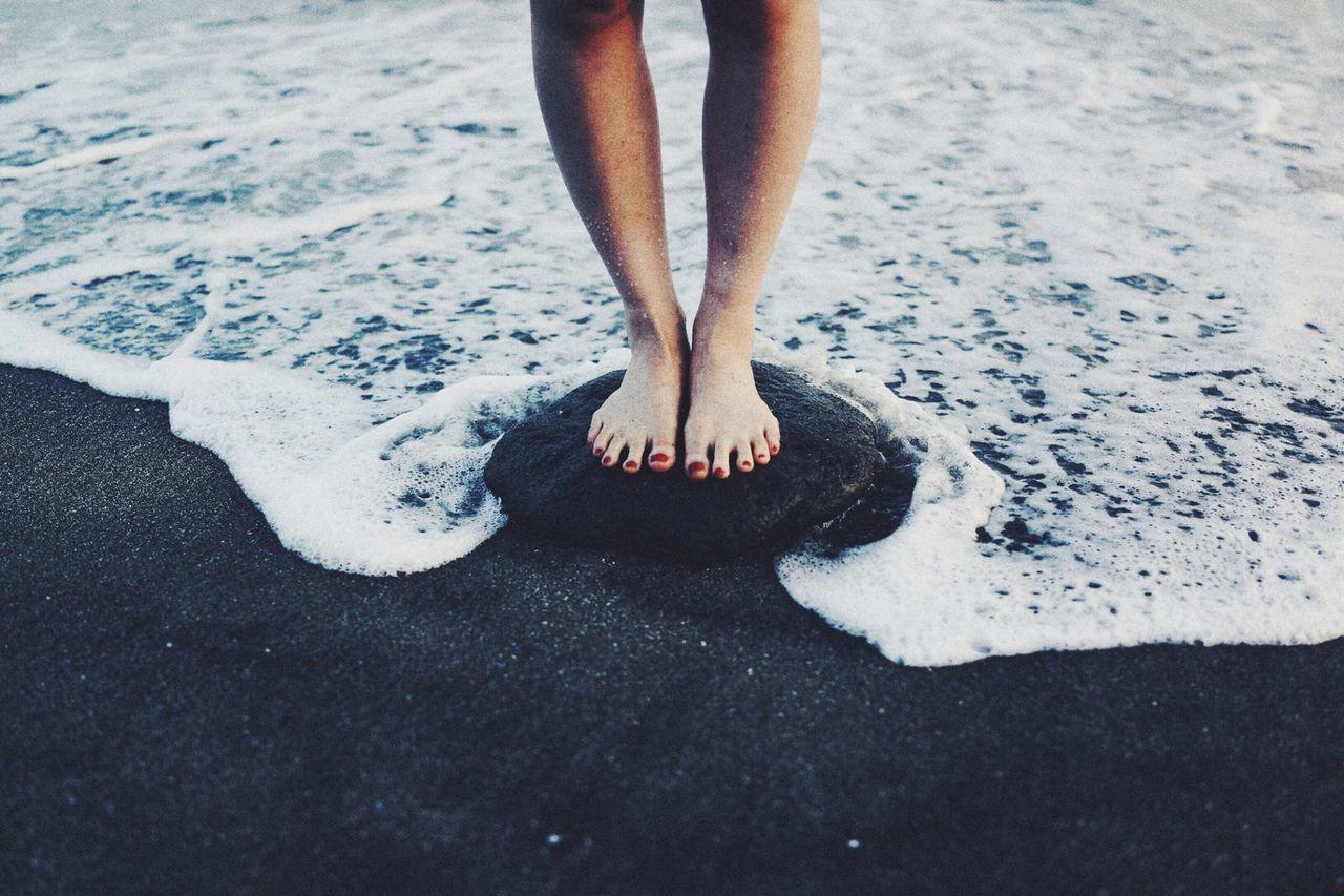 Beautiful stock photos of sunny, Barefoot, Beach, Close-Up, Coastline