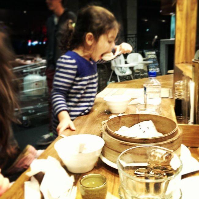 Dumplings with the girls