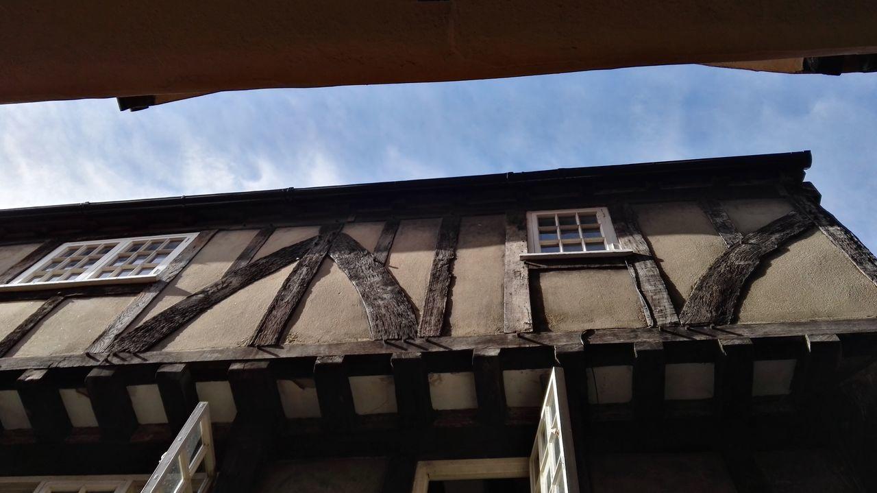York Yorkshire Tudor Tudor House Tudor City Low Angle View Sky