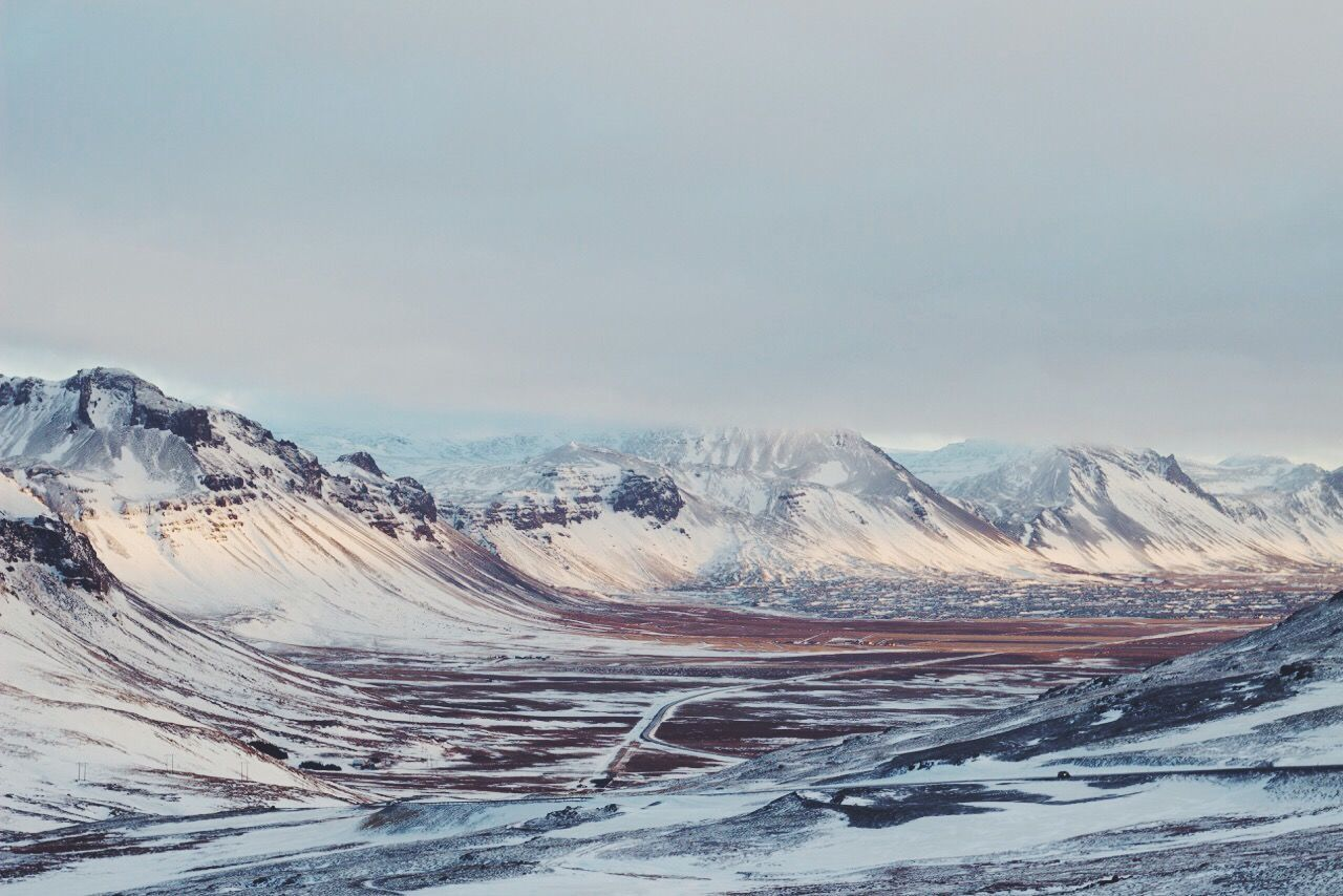 Beautiful stock photos of iceland, Beauty In Nature, Cold Temperature, Day, Mountain Range