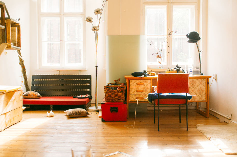 Beautiful stock photos of living room, Absence, Chair, Day, Decoration
