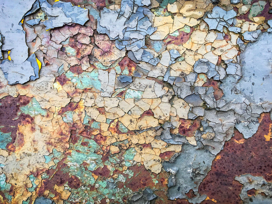 Flaking Pattern 002 Backgrounds Close-up Fragility Full Frame No People Outdoors Paint Rotting Away Textured