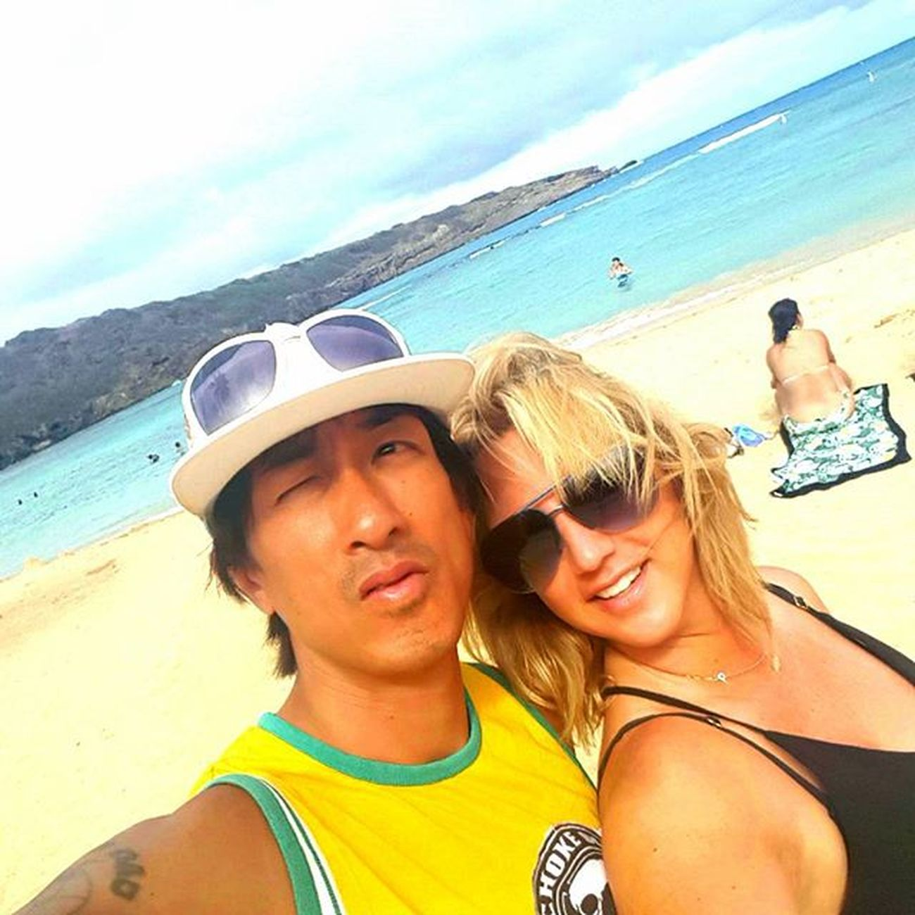 Aloha Waikiki Hawaii Love Sun Beach Vacation Tan Andyandgina Chokeoutcancer Chokeouttv Summer