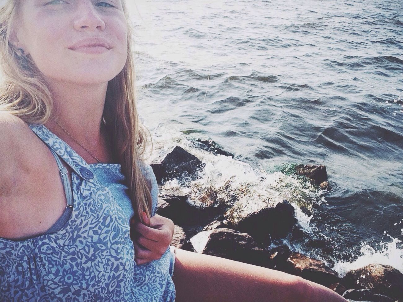 ? Sea Gulf Of Finland Selfie