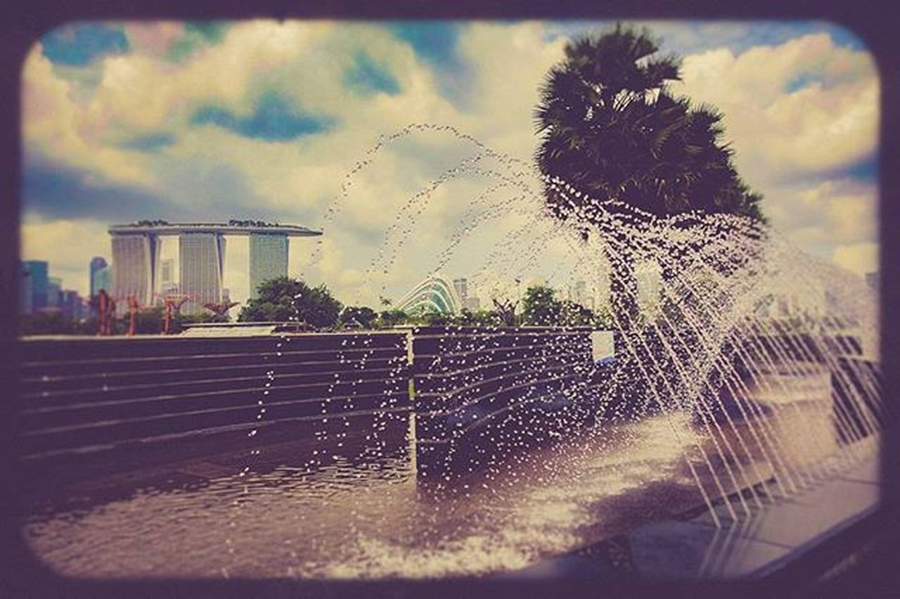 Certainly one of those day's today where I could just stand here and cool off lol Water Natureporn Sonyrx100m4 Sony Singapore Lightroom