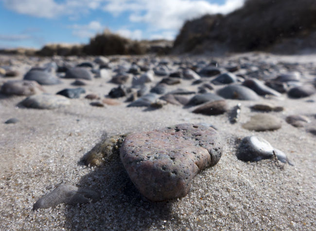 Baltic Coast Baltic Coast Line Baltic Sea Beach Blue Sky Close-up Day Focus On Foreground Heidkate Holiday Kiel Laboe Lonley No People Outdoors Pebble Pebble Beach Sand Sea Shore Sky And Clouds Spring Tranquil Scene Water Windy Day