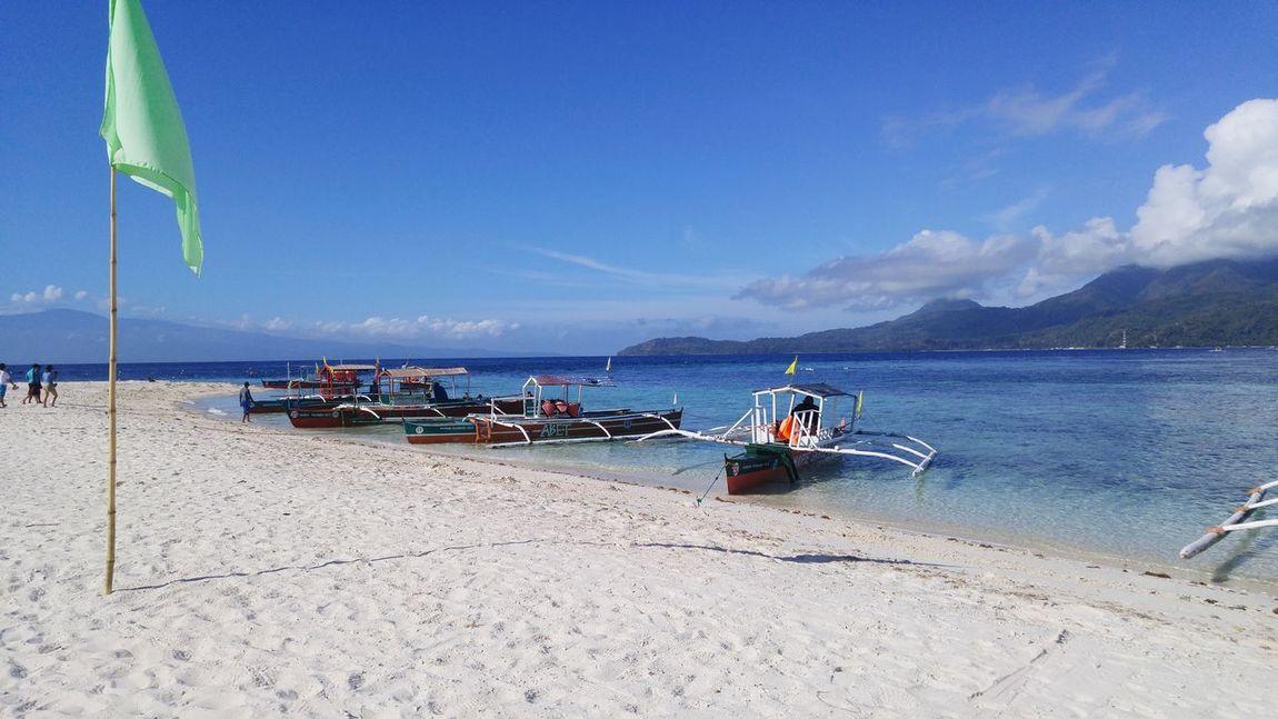 Beach Sea Mantigue Island Camiguin Philippines Wanderlust Traveling Travelgram Vitaminsea Boats
