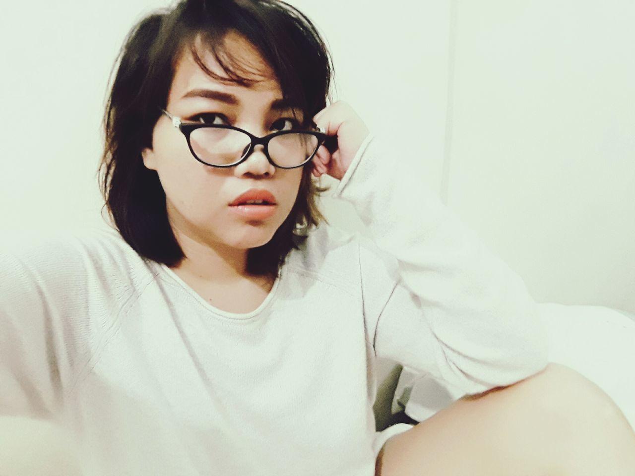Its just meih. Eyeglasses  People Young Women Close-up Portrait Females Beauty Women Filipina Manila Phonography